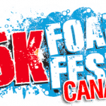 Save $5 5K Foam Fest Canada  with code MRGFOAM