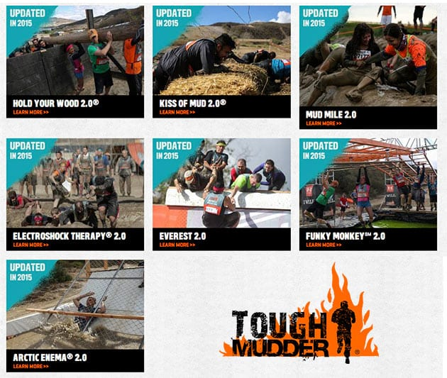 Tough Mudder's revamped 2.0 obstacles for 2015