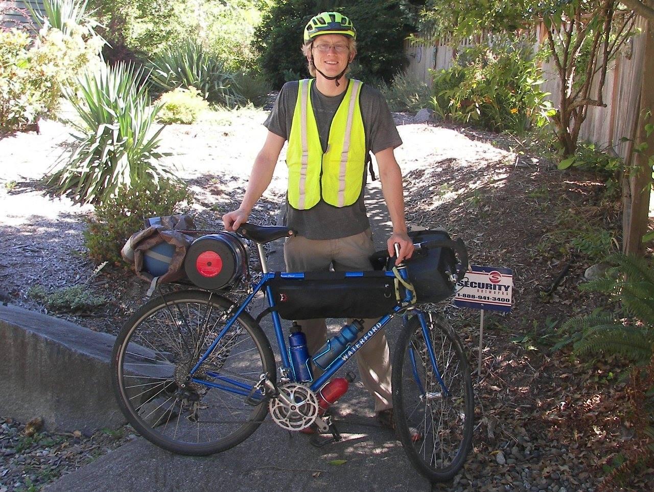 Yatsko and bike