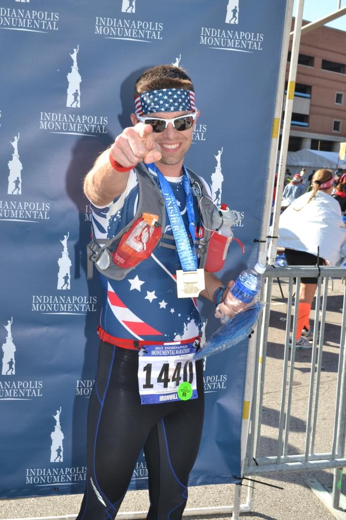 Monumental Marathon Finish