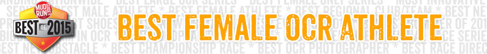 Best Female OCR Athlete