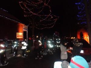 Ignite the Night Snowshoe Race