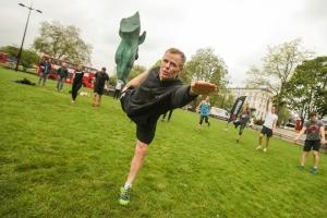 Spartan Pop up workout