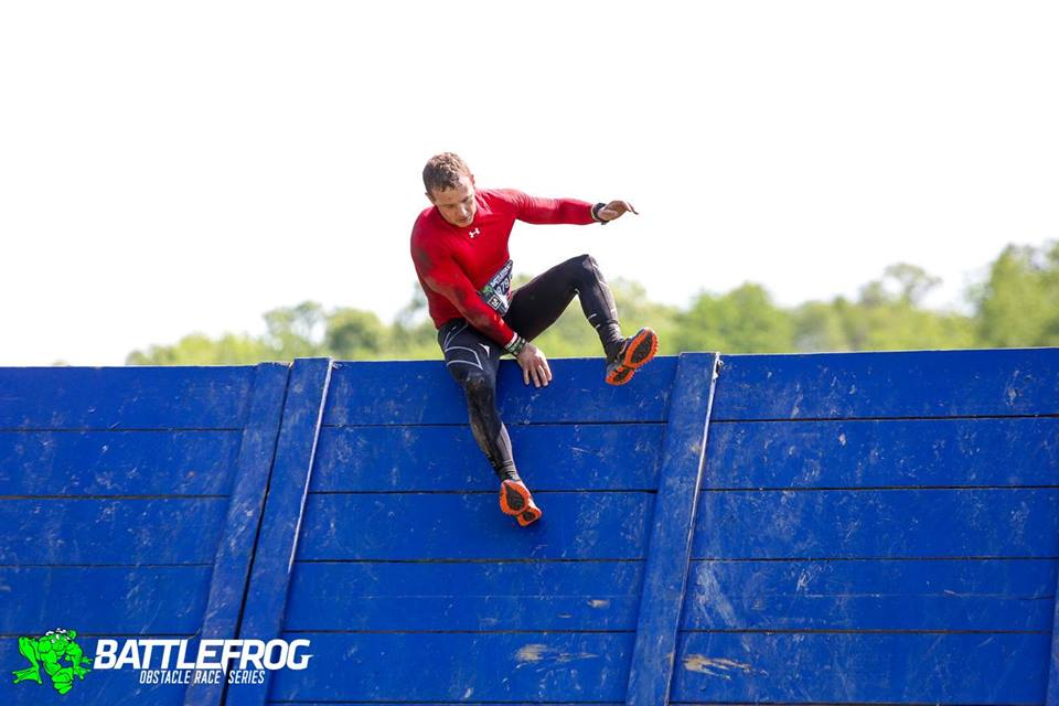 Veteran of every WTM so far, Rob Greer clears on obstacle on his way to a BFX win in Minnesota.