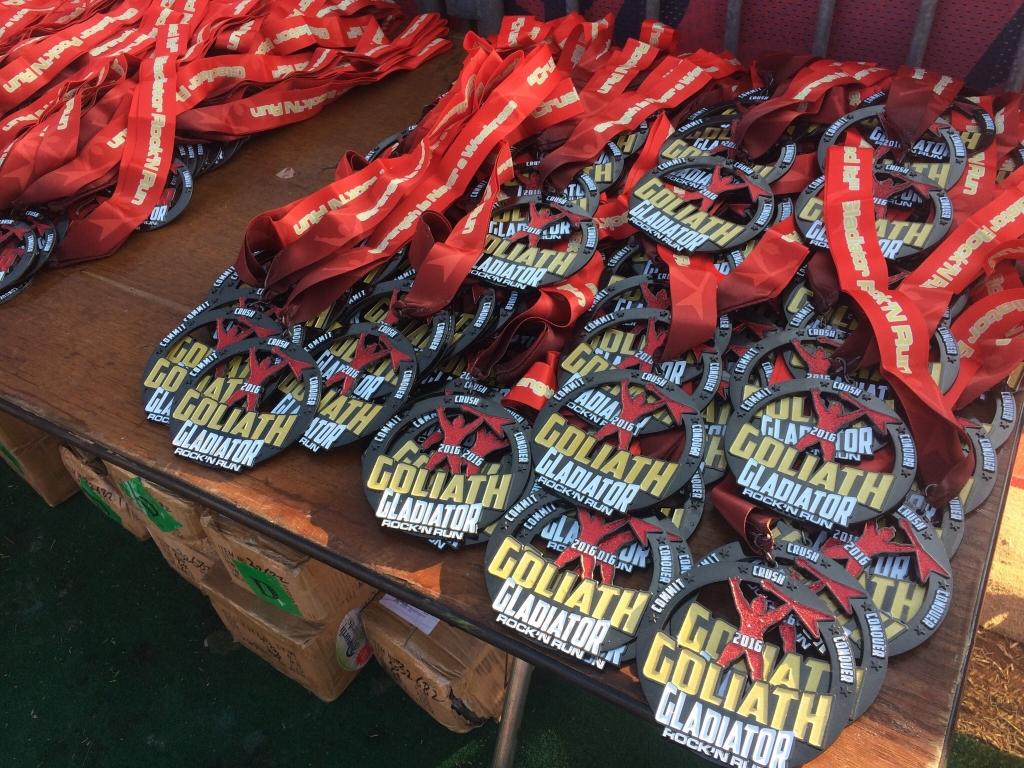 Goliath Medals