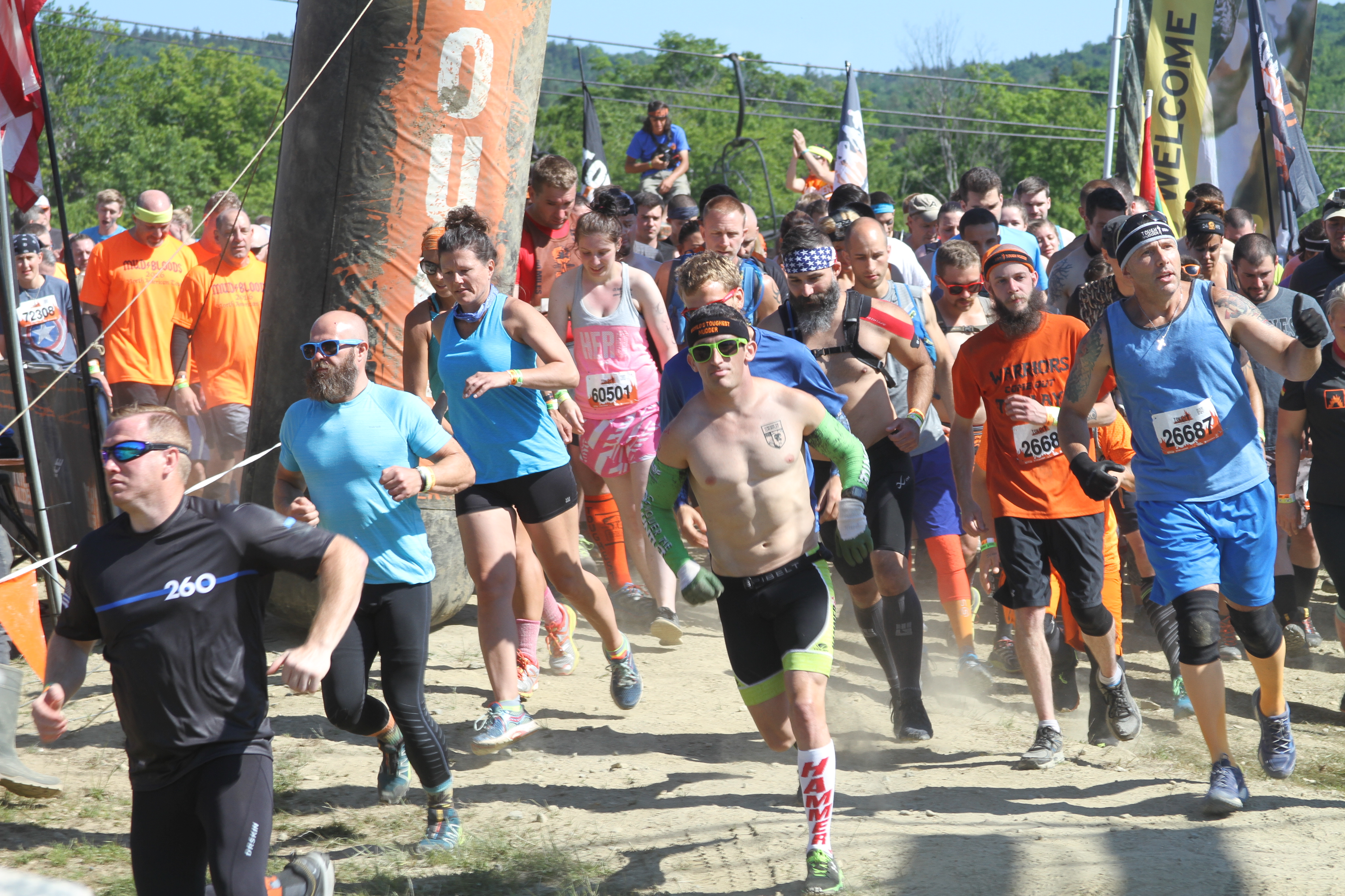 OCR America begins with two laps of Tough Mudder New England.
