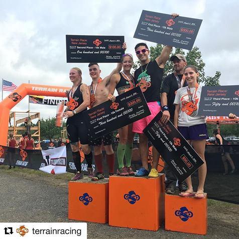 terrain podium