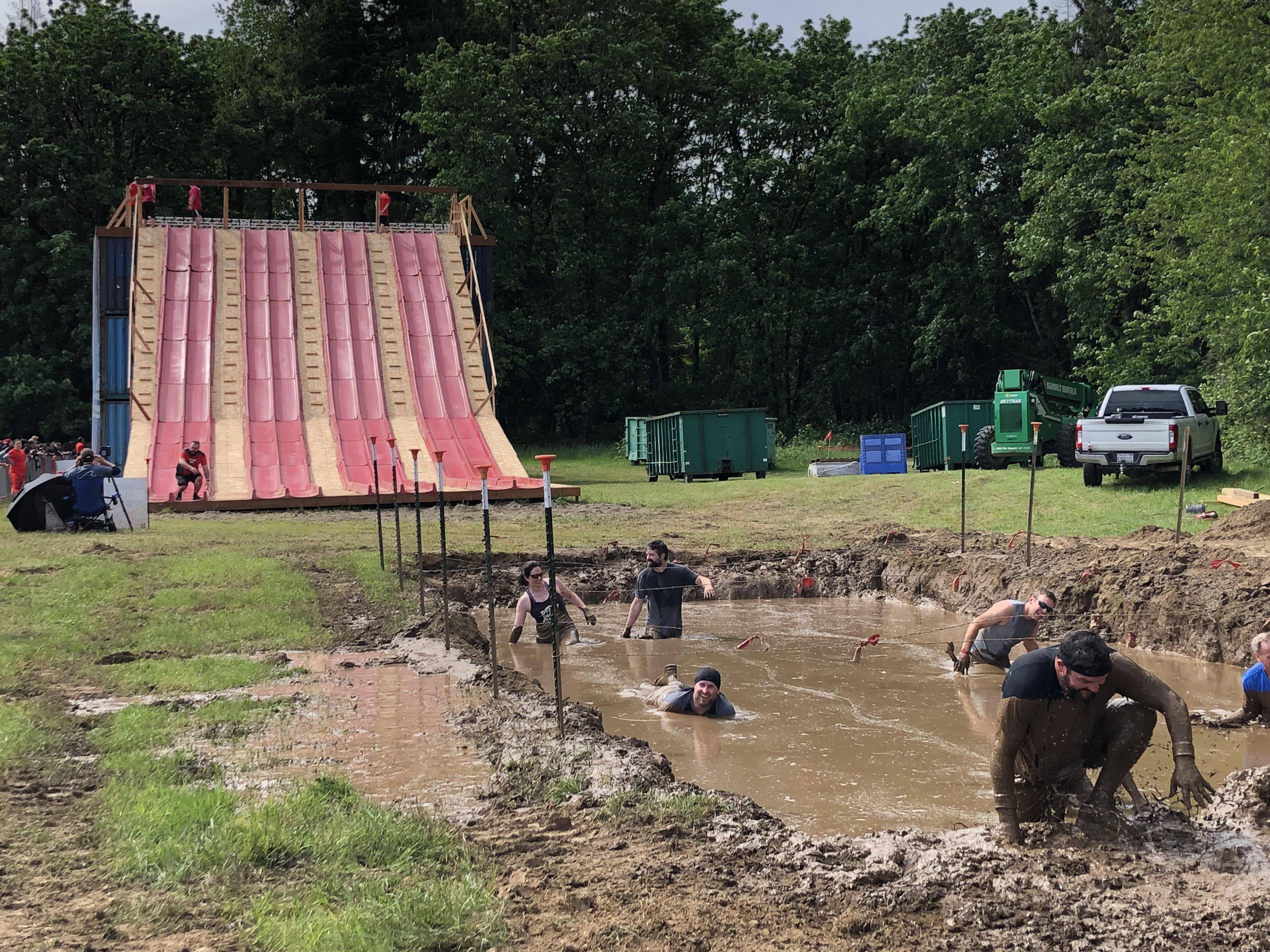 Race Recap Warrior Dash Oregon Mud